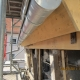 Eine sanierte Traufe mit neuem Gesimskasten und neuer Dachrinne