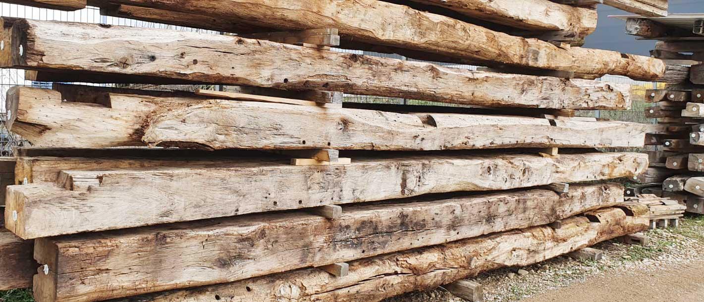 Nachhaltige Verwendung von Altholz in der Denkmalpflege