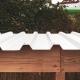 Hylly Kaminholzdepot mit Trapezblech-Dach
