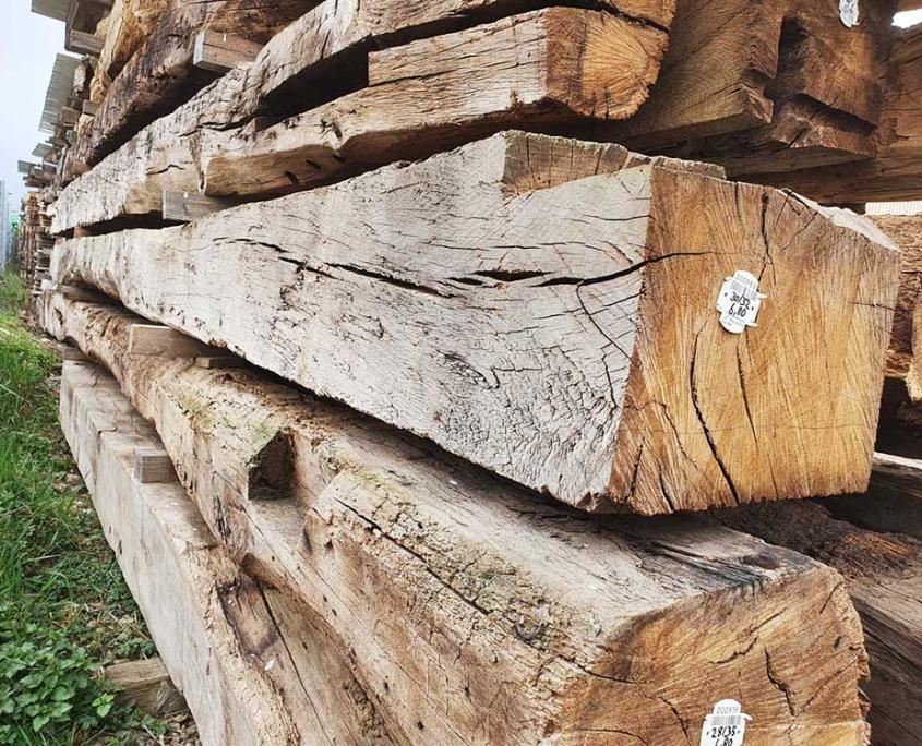 Nachhaltiges Bauen mit wiederverwertbarem Altholz